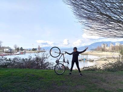 Kelly Biking